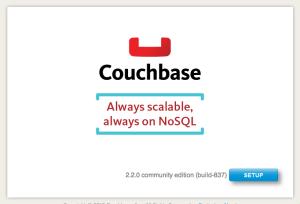 Setup Couchbase