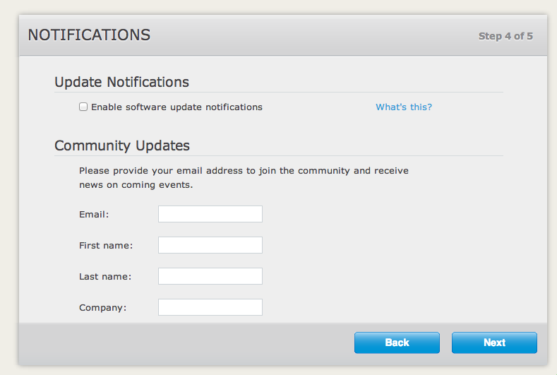 Ignore Couchbase notifications